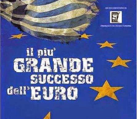 """Il più grande """"successo"""" dell'euro"""