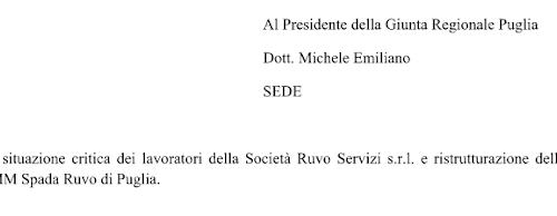 MICHELE PENSACI TU. IL COMUNE LICENZIA. INTERVENGA LA REGIONE
