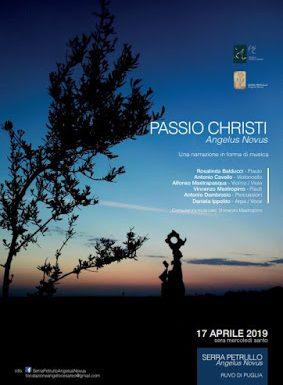 """PASSIO CHRISTI """"ANGELUS NOVUS"""""""