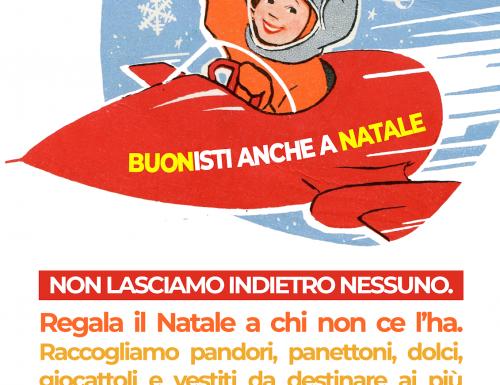 """""""BUONISTI ANCHE A NATALE"""", LA RACCOLTA DI BENI DI RIFONDAZIONE COMUNISTA"""