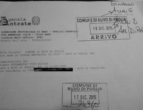 IL COMUNE EVASORE. L'AGENZIA DELLE ENTRATE BASTONA IL SINDACO