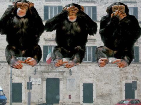 Le scimmiette di palazzo Avitaia