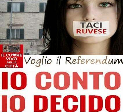 Stragapede: RIVEDERE QUEL PROGETTO DISTRUTTIVO